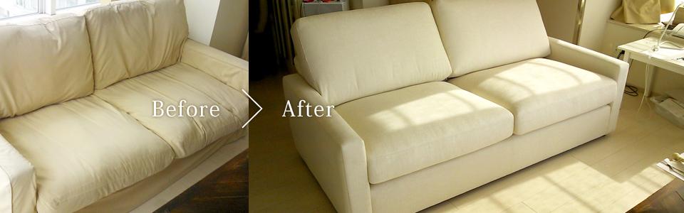 佐山製作所の家具の修復