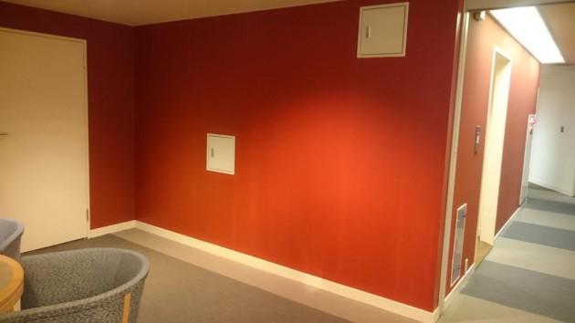 作業後 壁面塗装